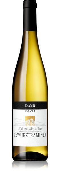 Gewürztraminer Südtirol Alto Adige DOC 0,75l 14,5% - 2019 / Kellerei Bozen