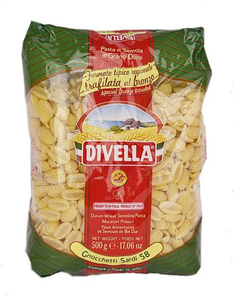 Gnocchetti sardi Nr. 58 500g in Beutel / Divella