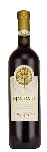 Mandato Nero D Avola Sicilia IGT 2017 0,75l 13%/Enoitalia