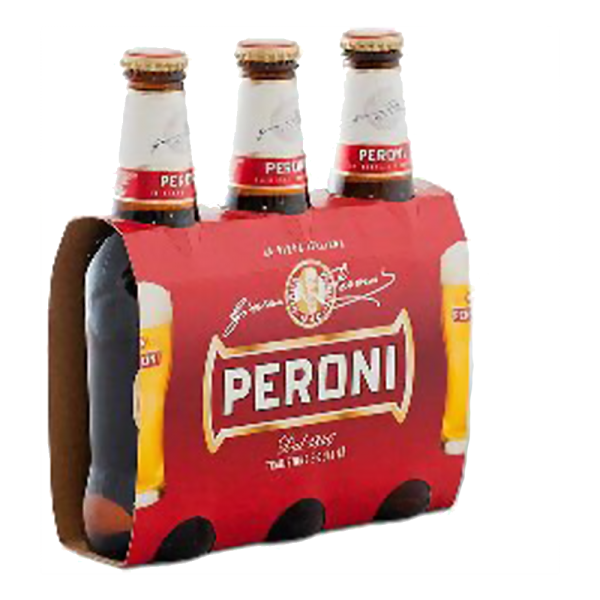 Birra Peroni Bier 3x 0,33l /Peroni