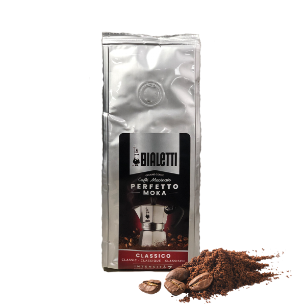 Caffé gemahlen Classico 200g Beutel/Bialetti
