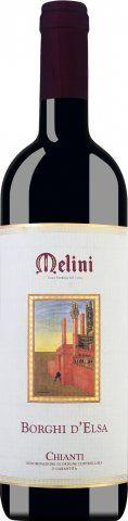 Chianti DOCG Borgo d Elsa 13 % 0,75 Liter 2017/Melini
