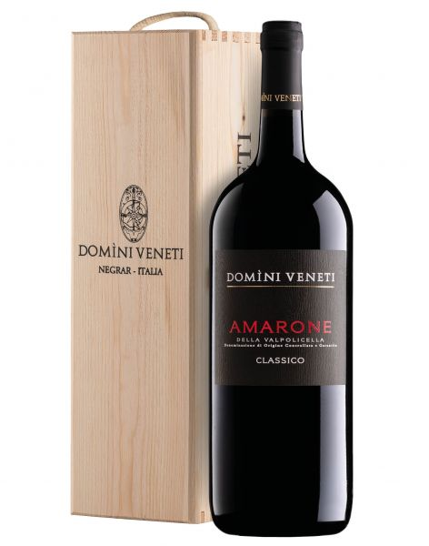 Amarone della Valpolicella DOCG Classico 1,5l in Holzbox 15,5% - 2015 / Domini Veneti