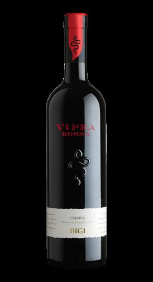 Vipra Rossa Umbria IGT 0,75l 13,5% - 2018 / Bigi