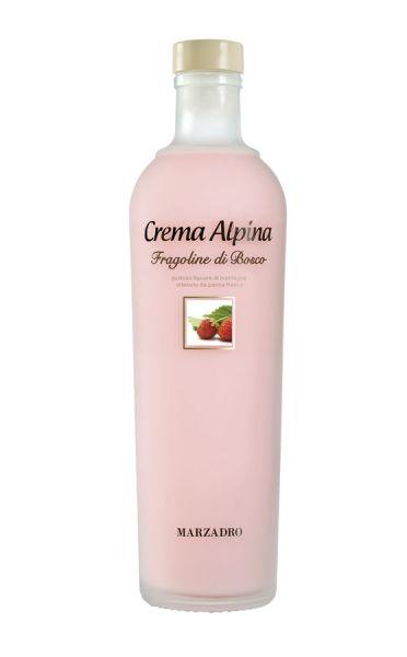 Crema Alpina Fragoline di Bosco 0,7l 17% / Marzadro