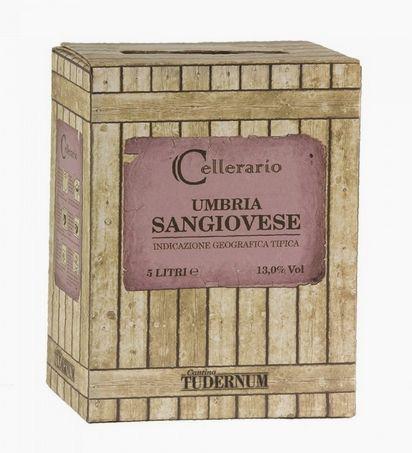 Sangiovese IGT Umbria 5l Bag Box 12,5 %/Cantina Tudernum