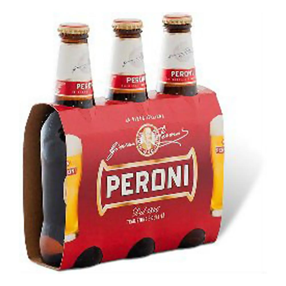 Birra Peroni Bier 3x 0,33l /Peroni | Bier | Getränke mit Alkohol | Getränke