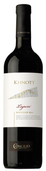 Lagrein Trentino Khnott 0,75l 13% alc. 2016 /Concilio