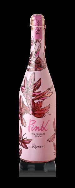 Vino Frizzante Pink Spago 0,75l 10,5% alc. Riondo