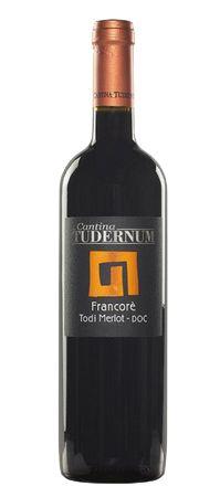 Francoré Merlot IGT 0,75l 14% 2016/ Tudernum